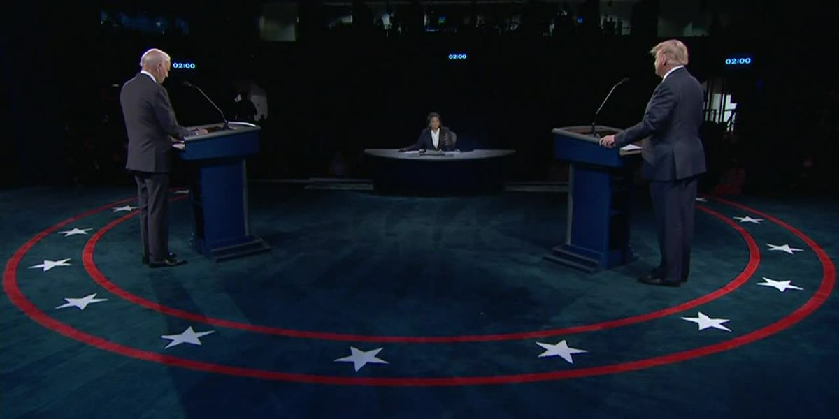 Presidential candidates have civilized final debate