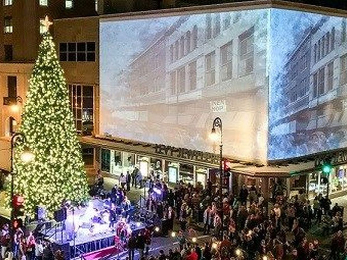 Celebrate the beginning of the Christmas season with a tree lighting on Broughton St.