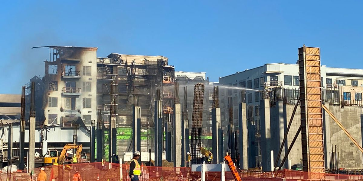 WATCH: Savannah Fire gives update on Eastern Wharf construction site fire