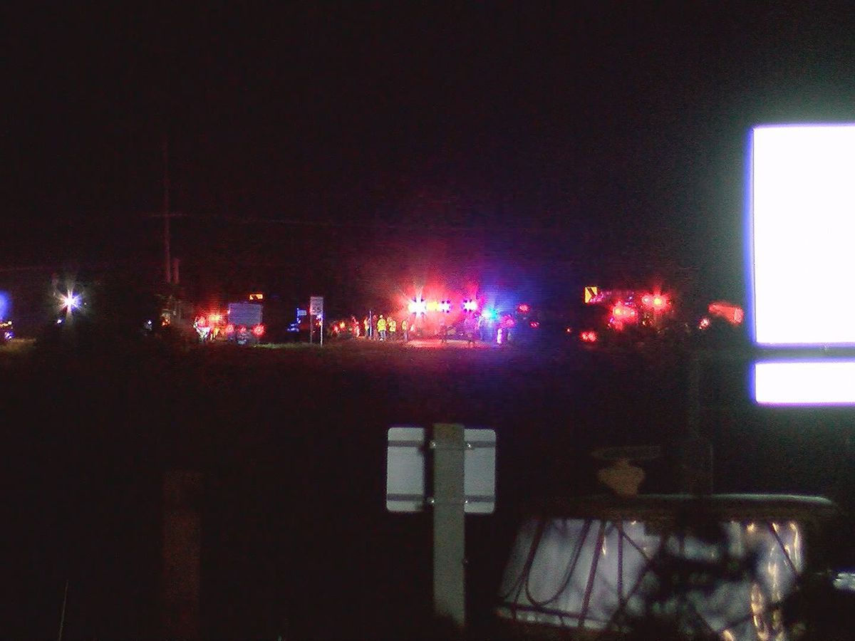 Person ejected from vehicle in crash near Bull River Bridge