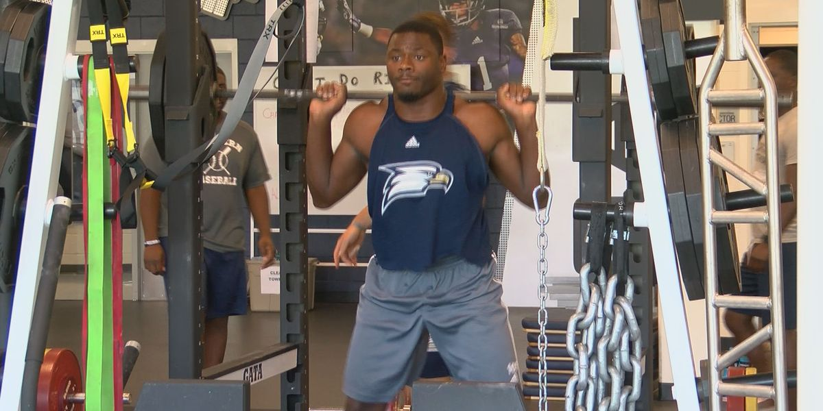 Georgia Southern Football is spending summer in the weight-room