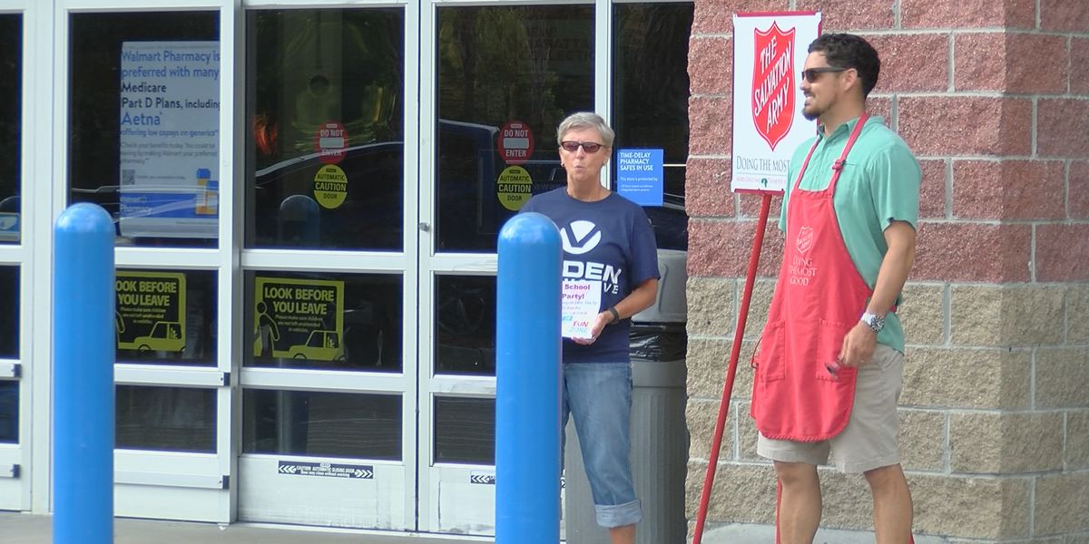 """Salvation Army tries to """"stuff the bus"""" to help area students"""