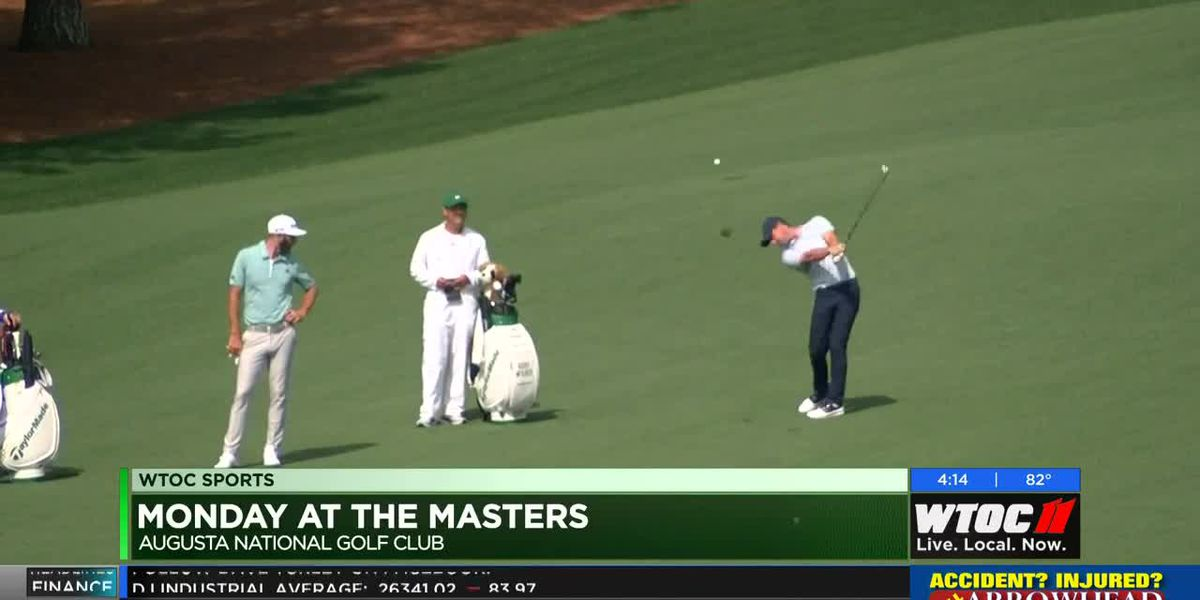 Monday at the Masters