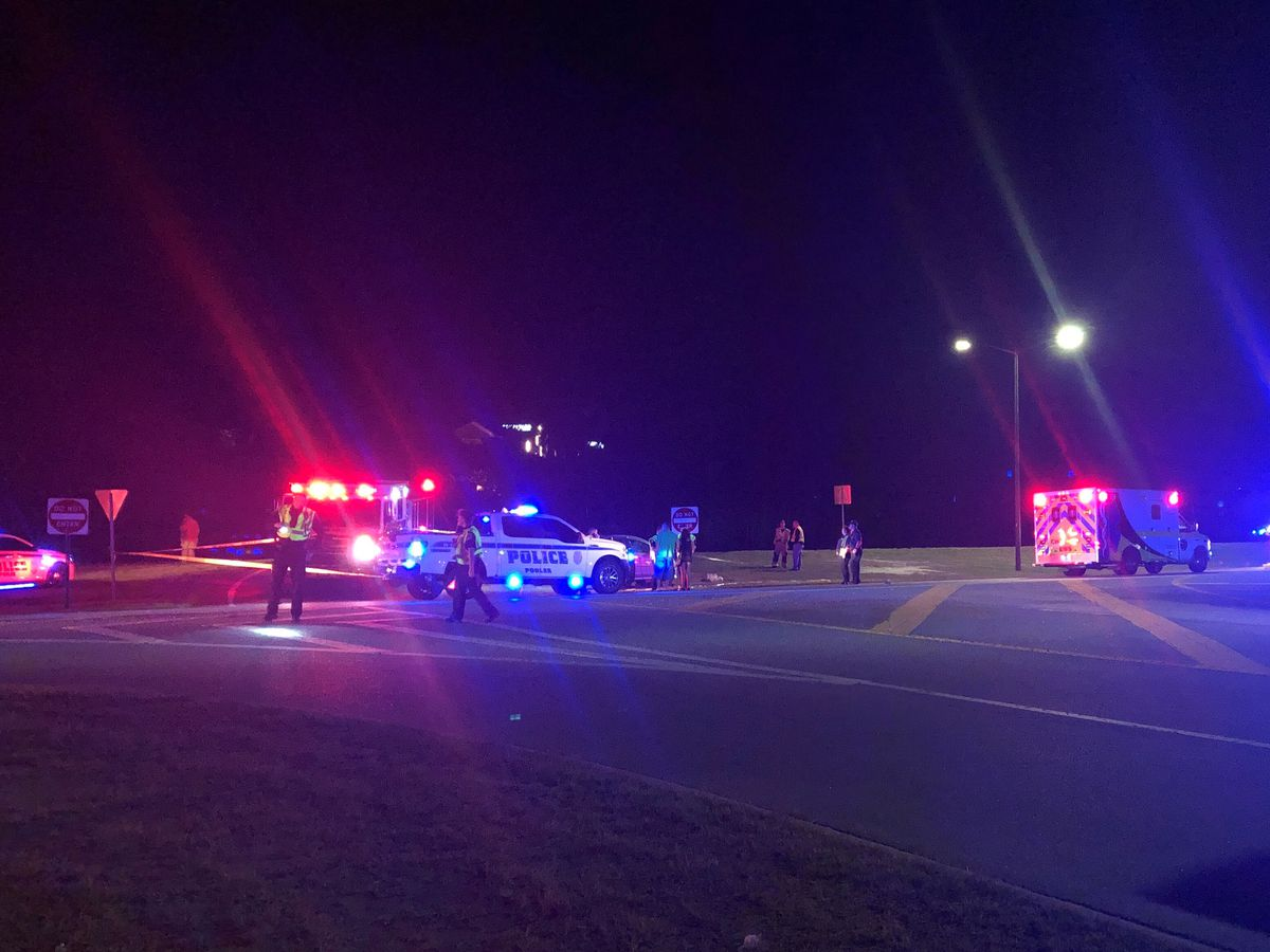 Pedestrian hit by vehicle on Pooler Parkway
