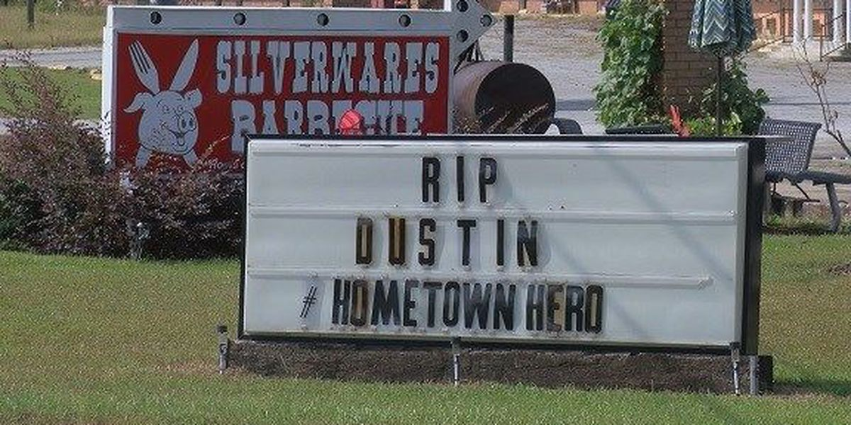 Toombs County High School honors fallen Green Beret