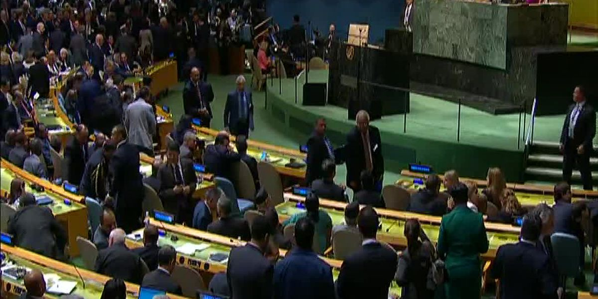 Top issues at 74th UNGA session set to be Iran and climate change