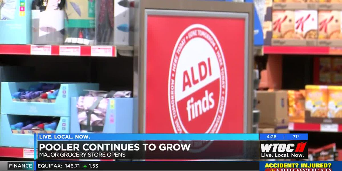 ALDI officially opens in Pooler