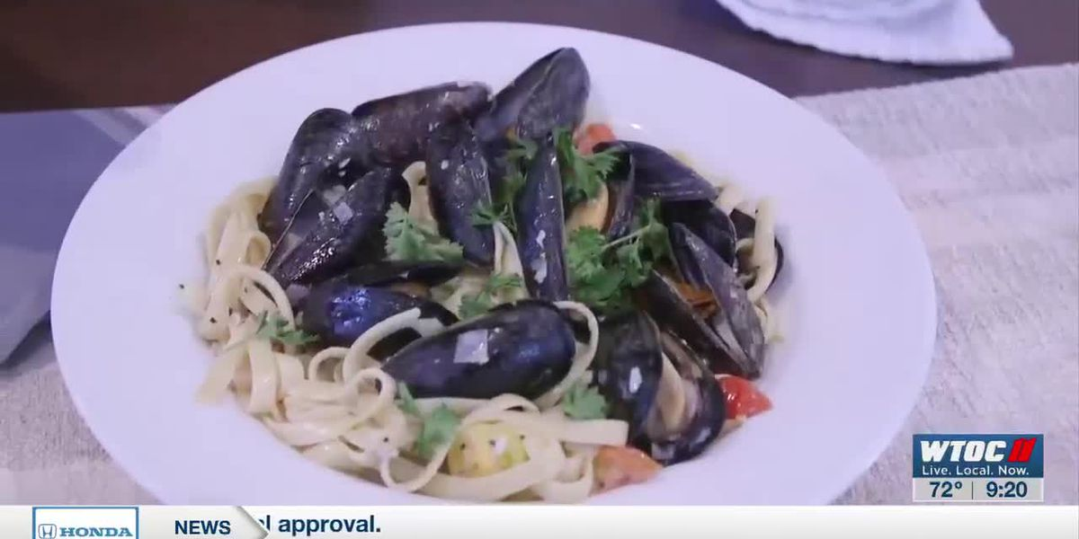 Whip up this flavorful mussel pasta with help from B. Matthew's Eatery