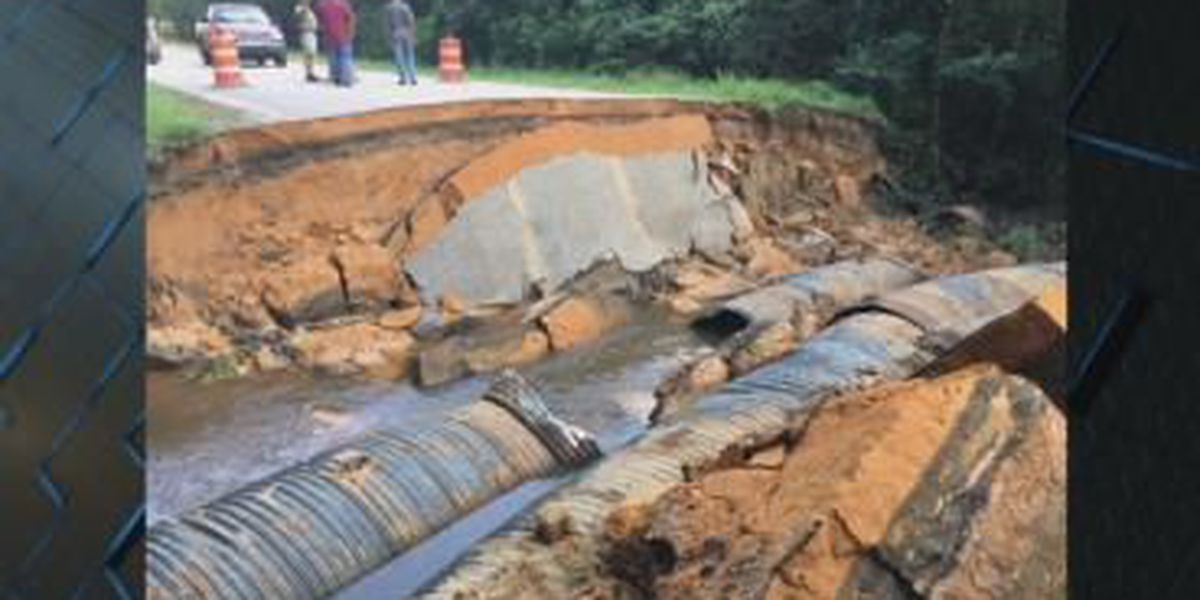 Portion of Gray Mule Farm Rd in Emanuel County remains closed following dam break