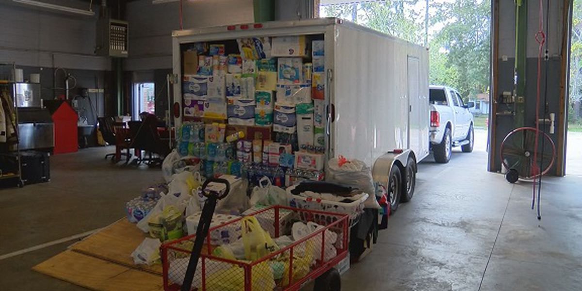 Wayne County volunteers sending supplies to victims of Hurricane Michael