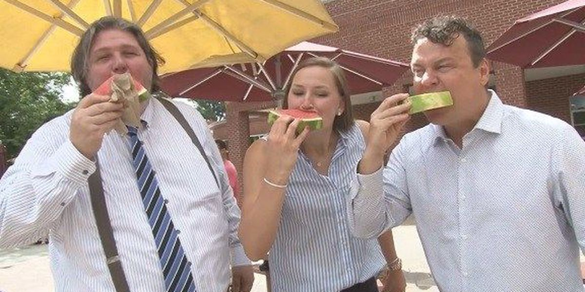 Good News: 71st Annual Watermelon Cutting held on GSU's Armstrong campus