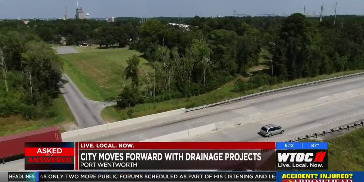 Port Wentworth hopes to start drainage projects by year end