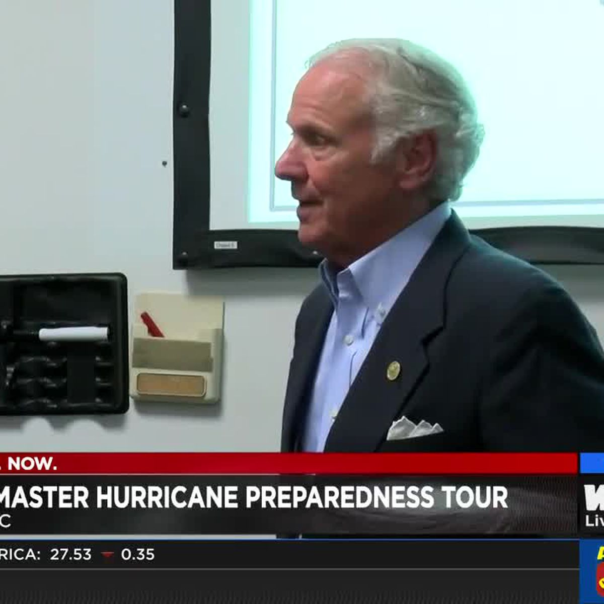 SC Gov. Henry McMaster wrapping up hurricane preparedness tour