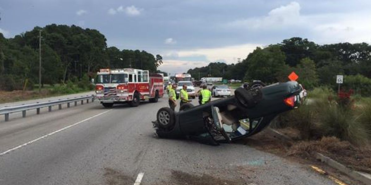 All lanes back open after wreck on Highway 170 at Broad River Bridge