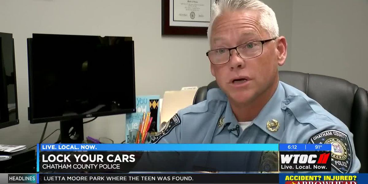 Chatham County Police find 39 unlocked cars in one parking lot