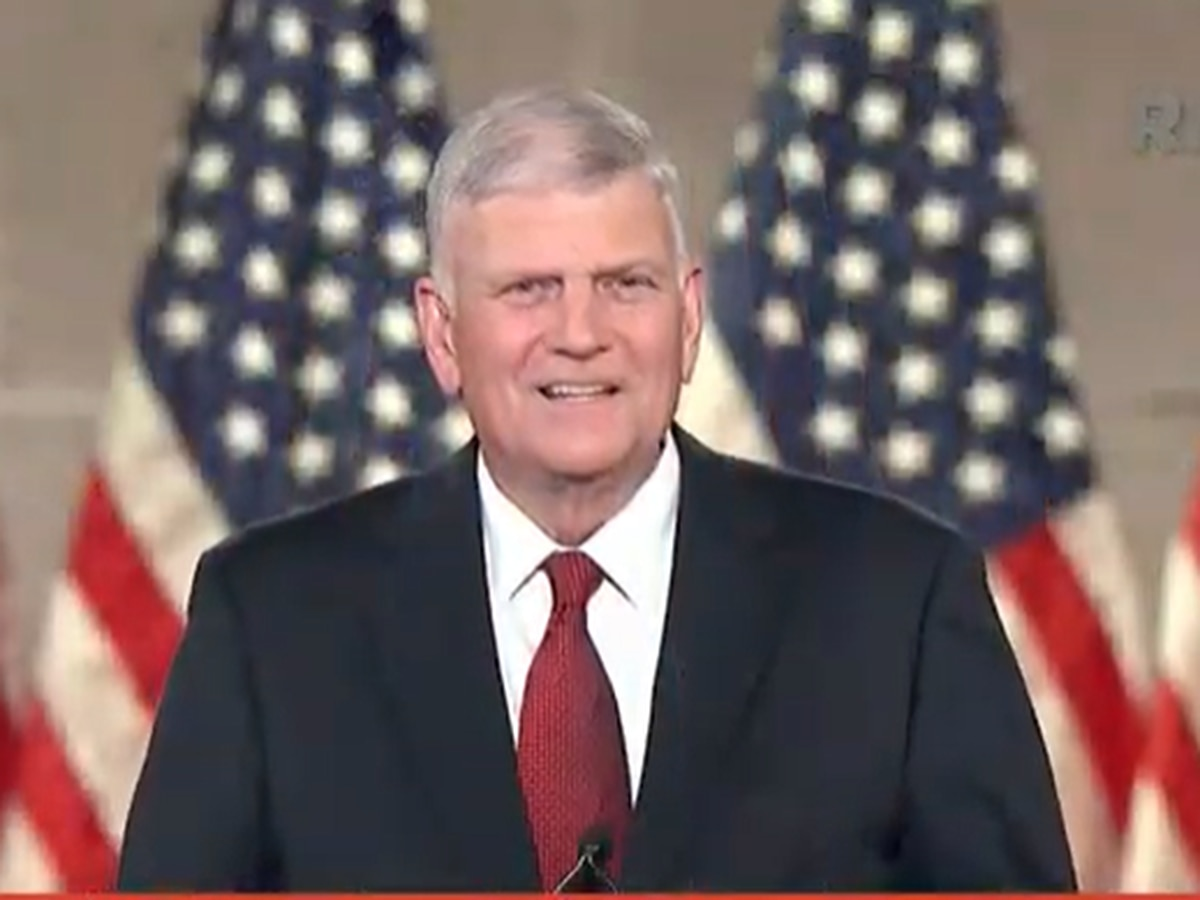 Franklin Graham gives prayer at 2020 Republican National Convention