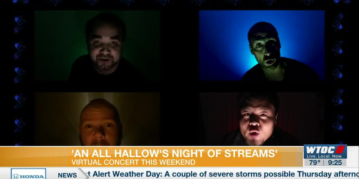 'An All Hallow's Night of Streams' Virtual Concert this weekend
