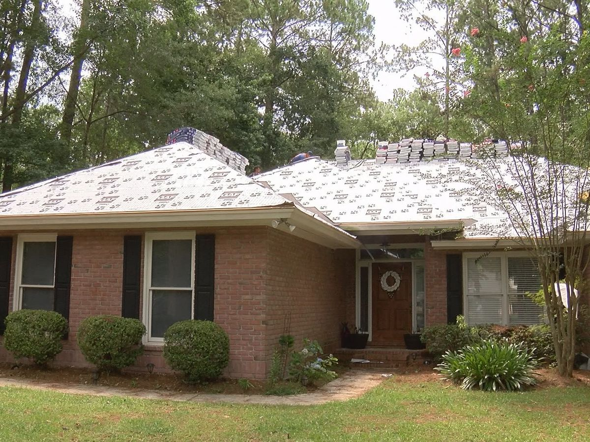 Local veteran receives free roof