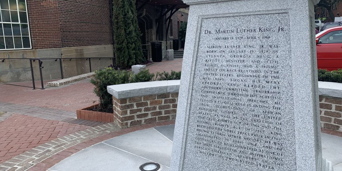 Monument to honor Dr. Martin Luther King Jr. in Savannah is delayed by the pandemic