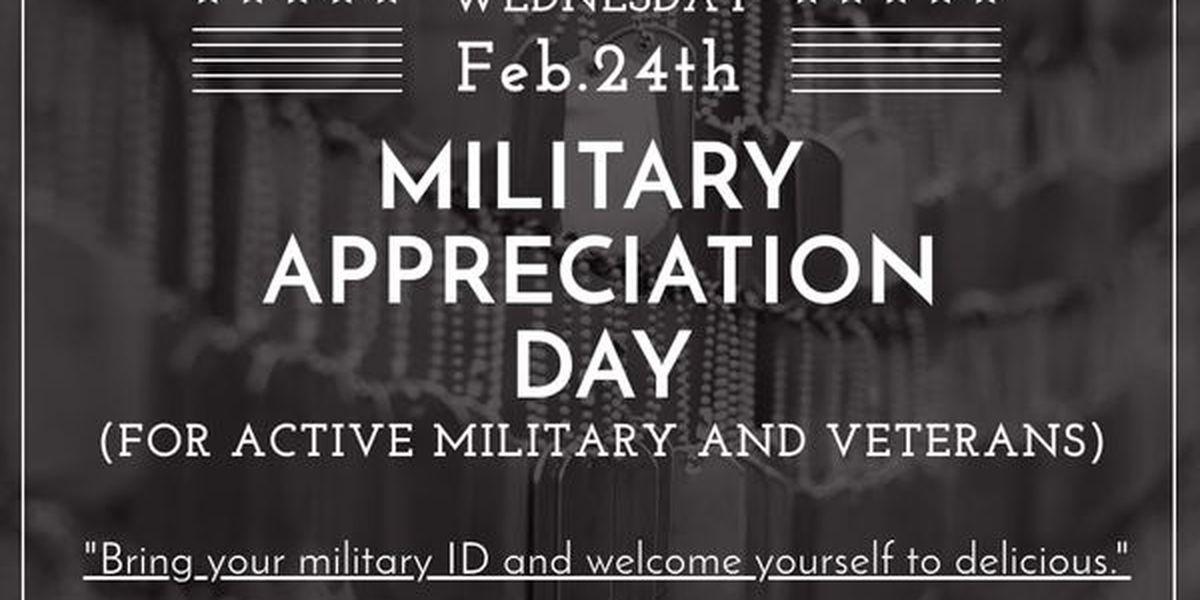 Saint Leo University hosts military appreciation with free meals