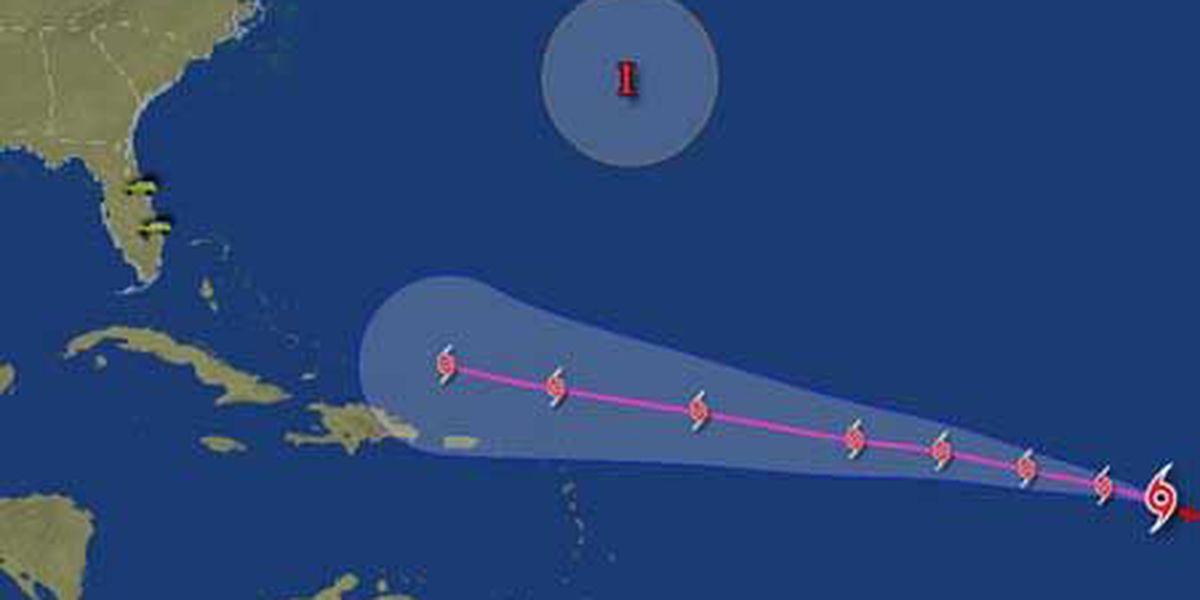 Tropical Storm Dorian gains strength in Atlantic