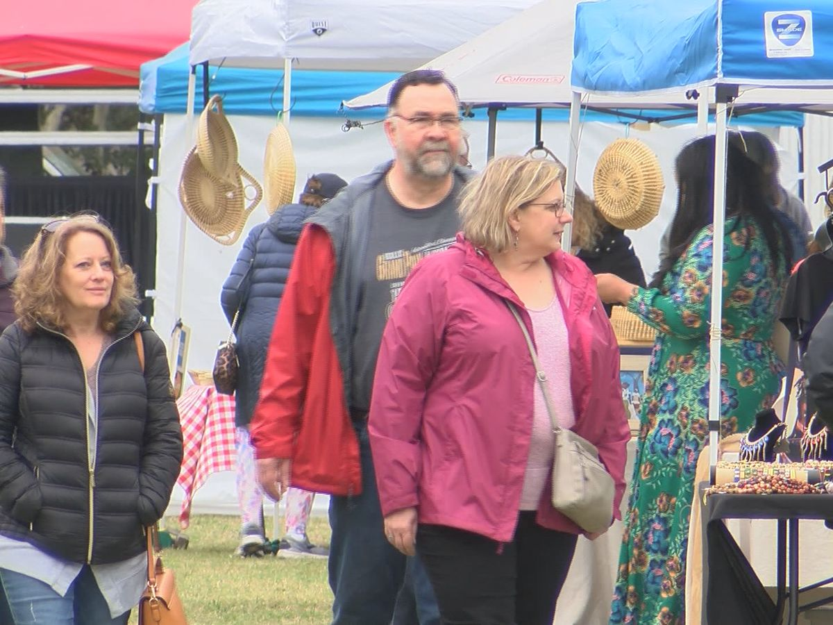 Final day of 24th annual Gullah market celebrates Lowcountry culture