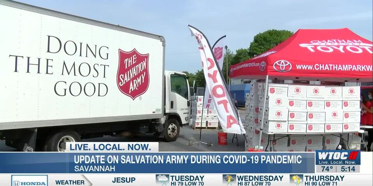 Salvation Army Savannah continues to help those impacted by COVID-19