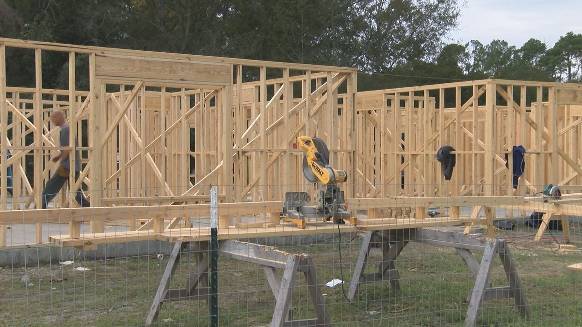 Apartments in Pembroke being rebuilt months after fire - WTOC