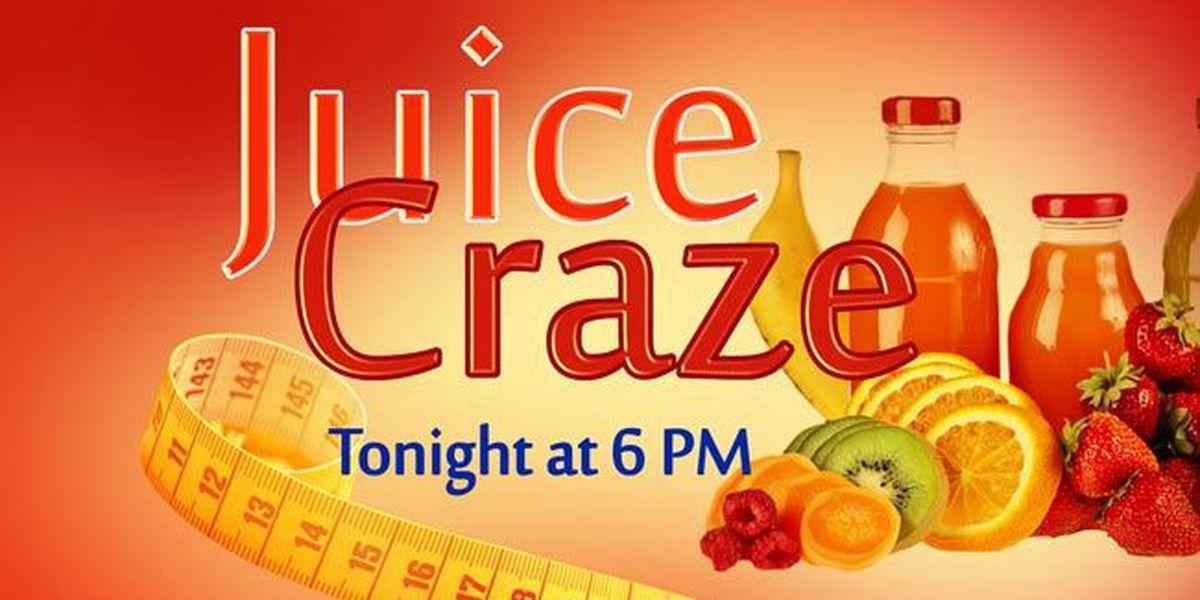 Watch at 6 p.m.: Cold pressed juice craze
