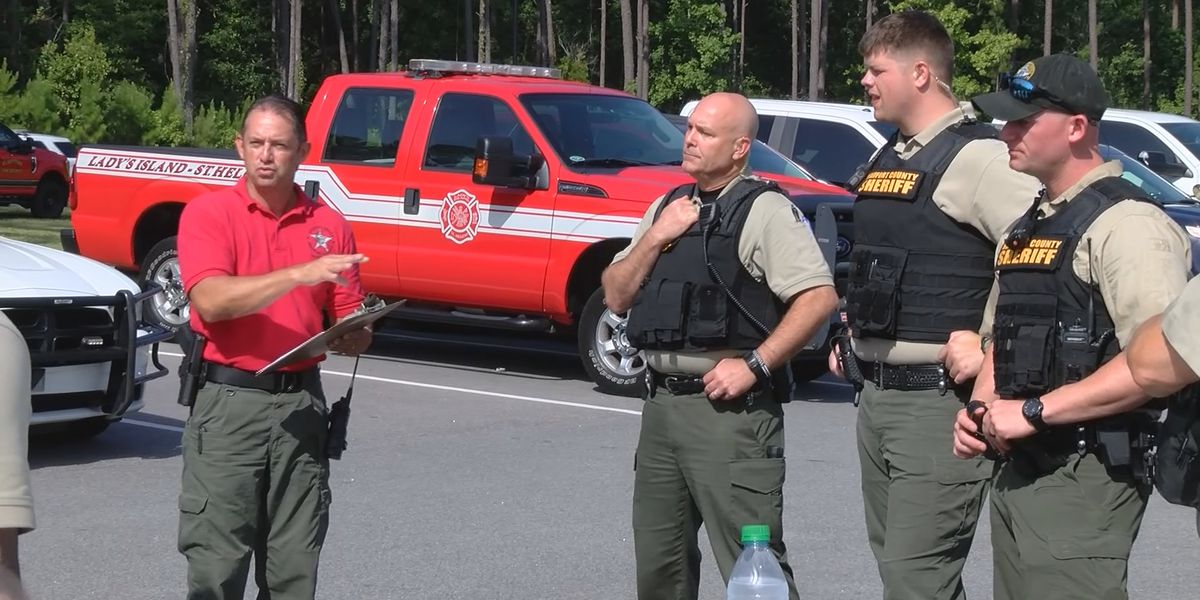 Beaufort Co. law enforcement hold active shooter training at May River High