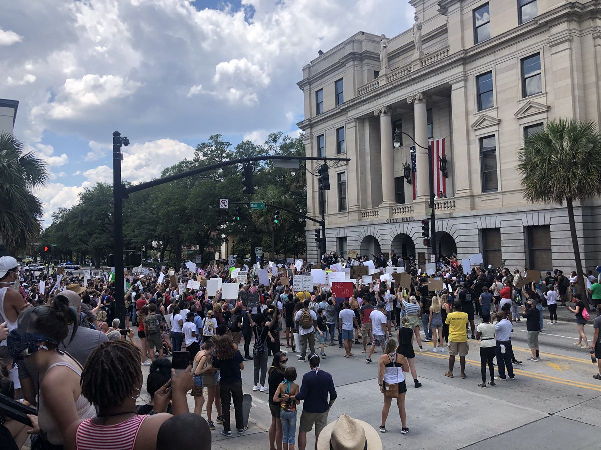 City leaders pleased with peaceful protests in Savannah; no curfew Monday night