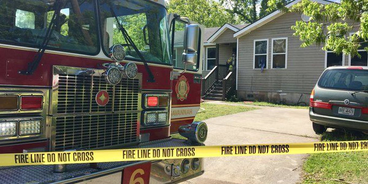 5 people displaced by fire in West Savannah