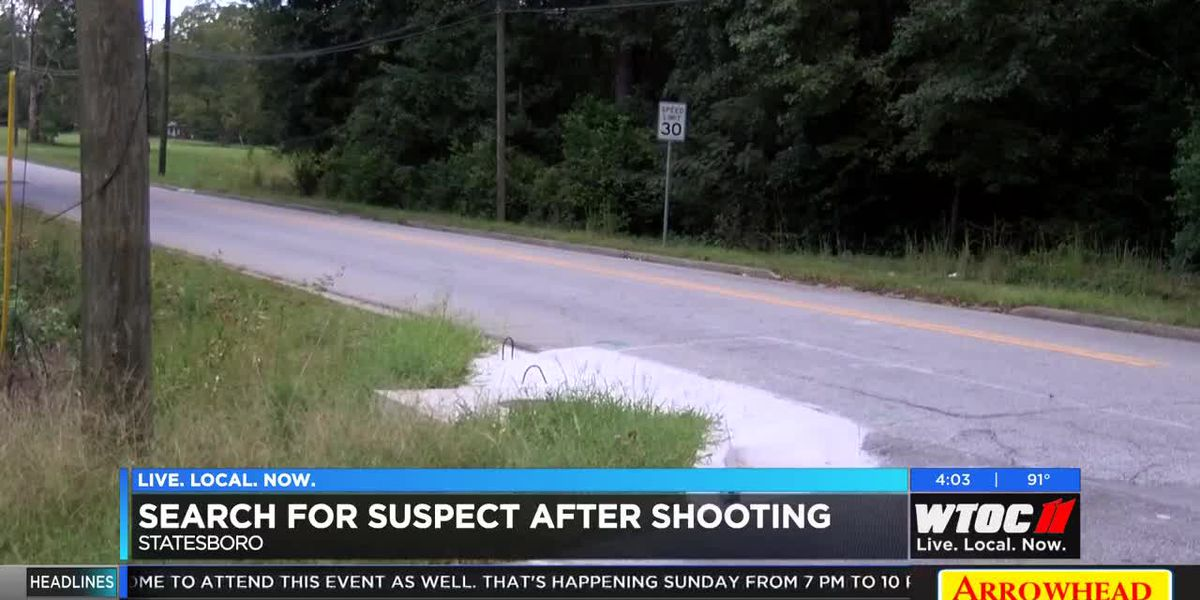 Statesboro PD searching for suspect after shooting at Butler Homes