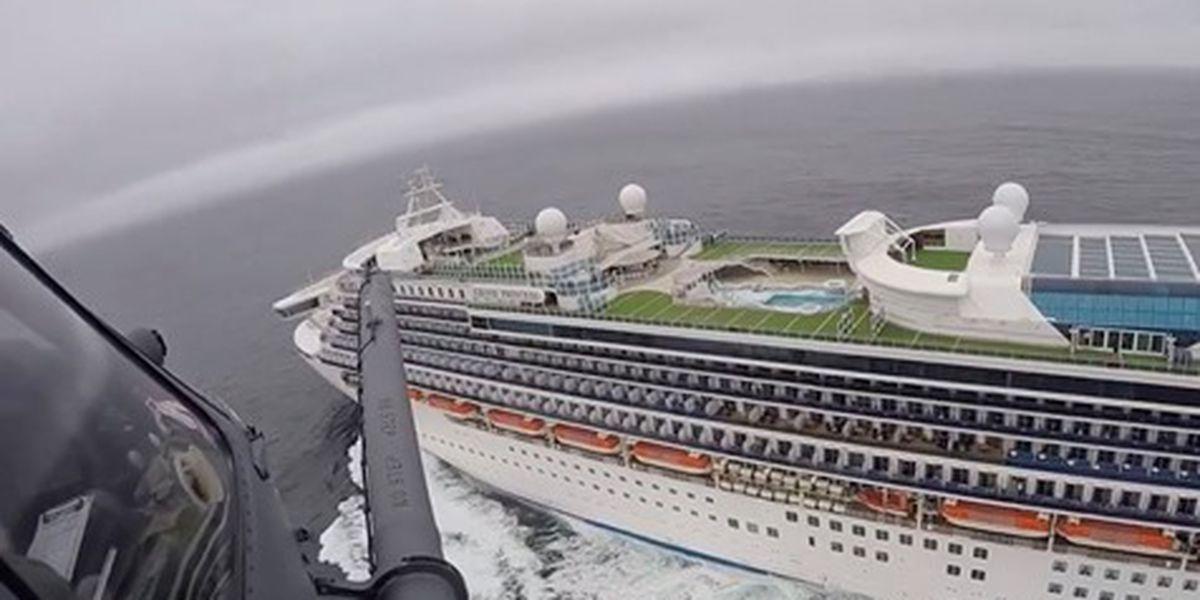 34 Georgians, passengers on cruise ship hit by coronavirus headed to Dobbins Air Base in Georgia