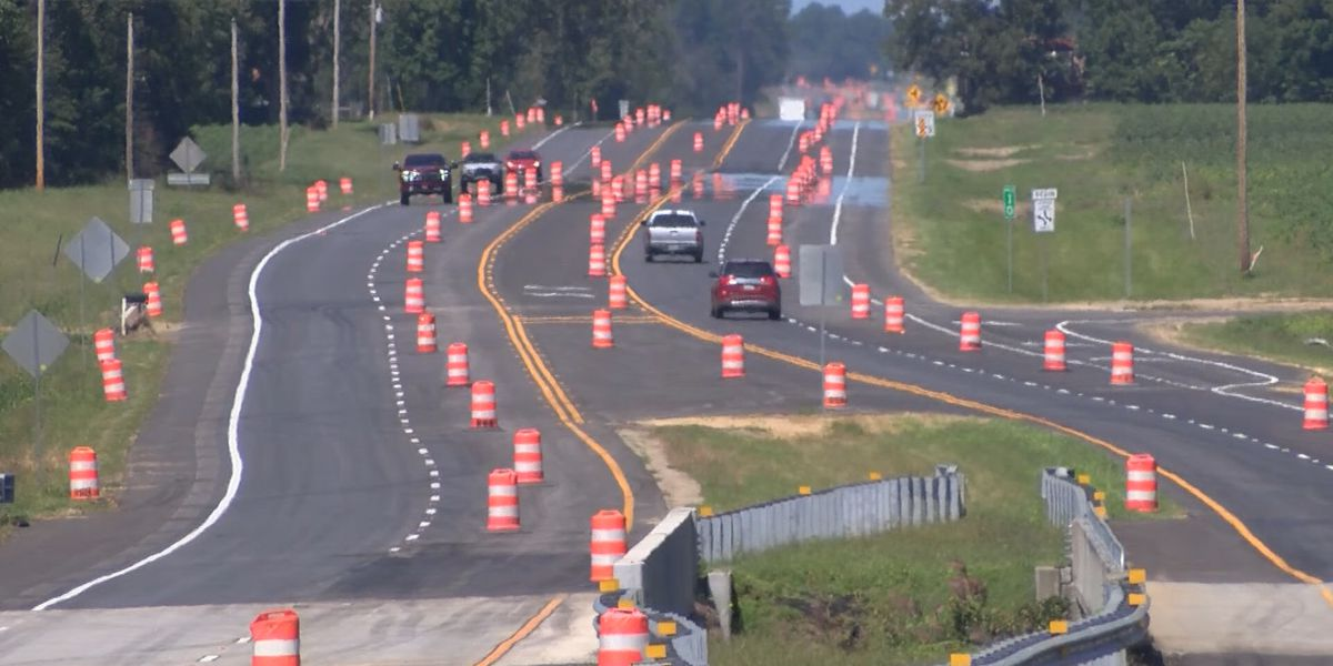 Highway 67 project to finish up by Friday