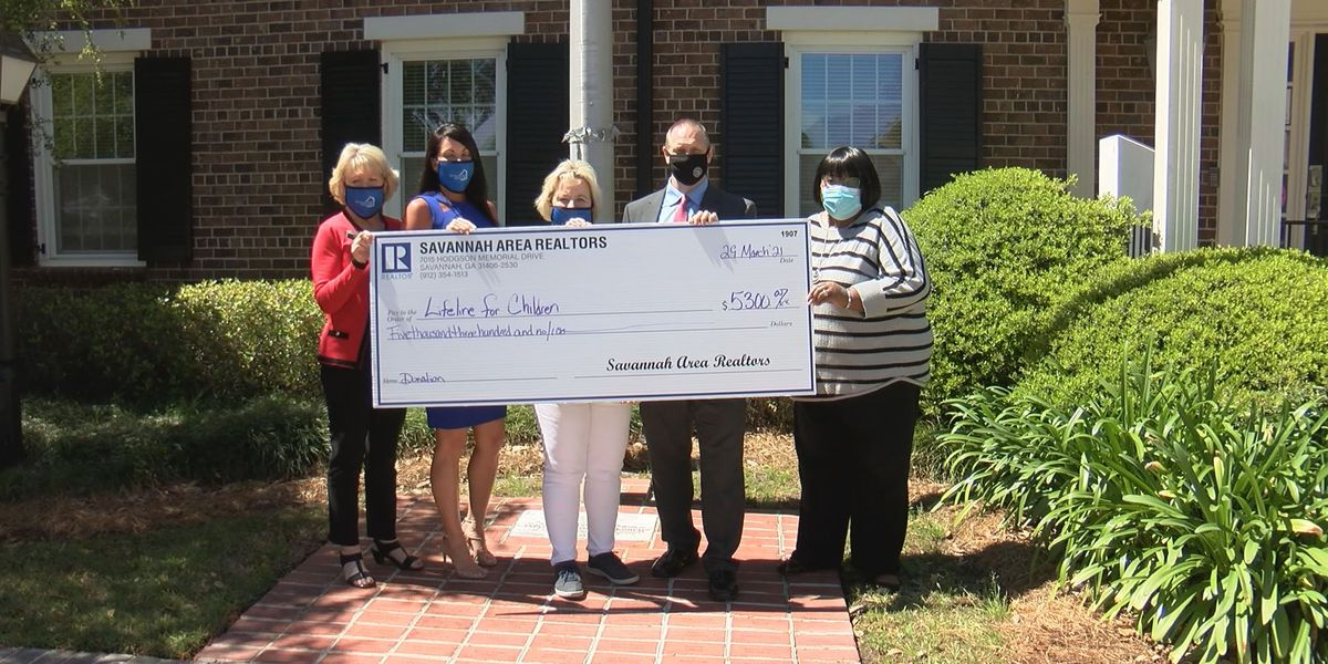 Several charities able to help more people thanks to Savannah Area Realtors