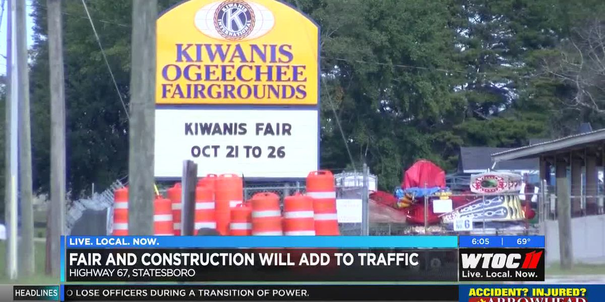Road construction, fair traffic to collide next week on Hwy 67