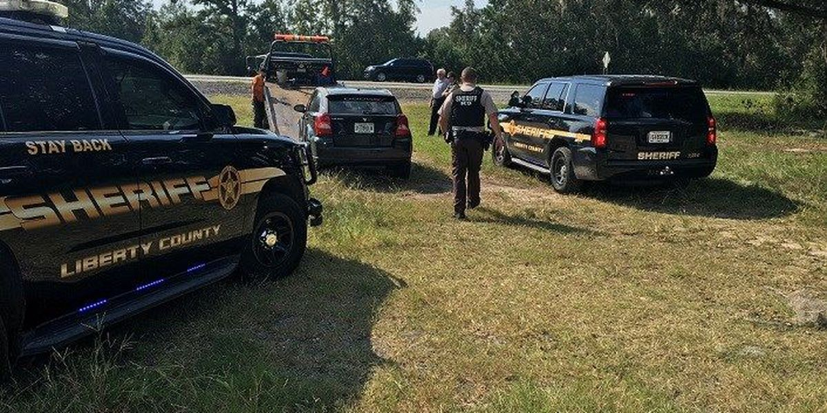 Liberty County Sheriff's Deputy attacked by stranded drivers on I-95
