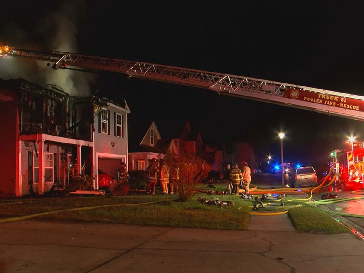 Family of 4 displaced by fire overnight in Pooler