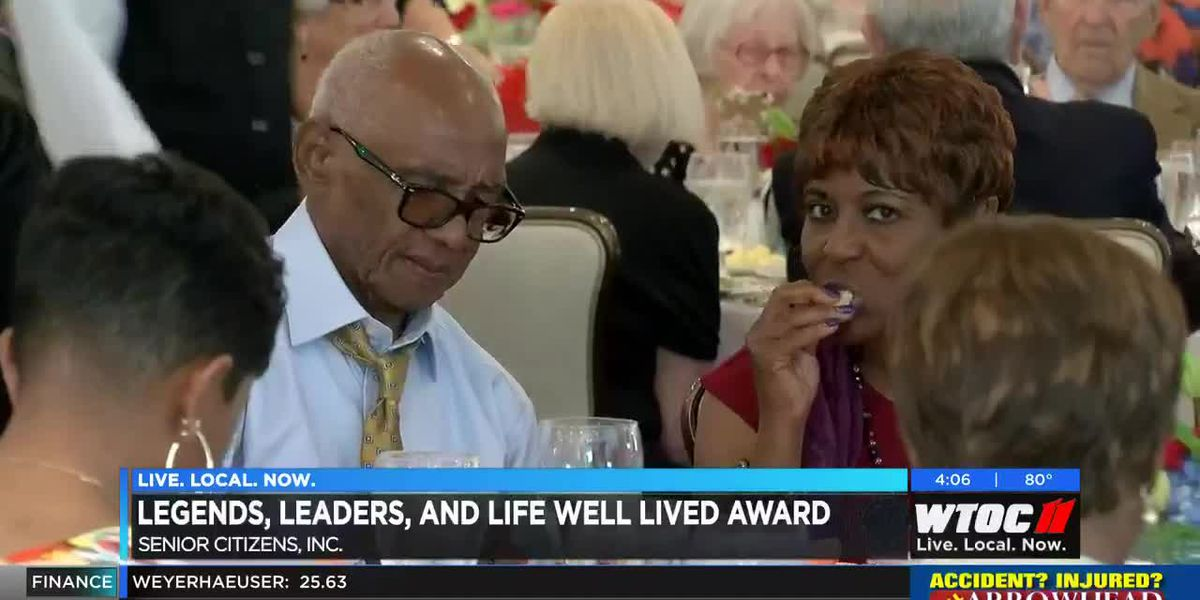 Legends, Leaders, and Life Well Lived Awards held for Senior Citizens, Inc.
