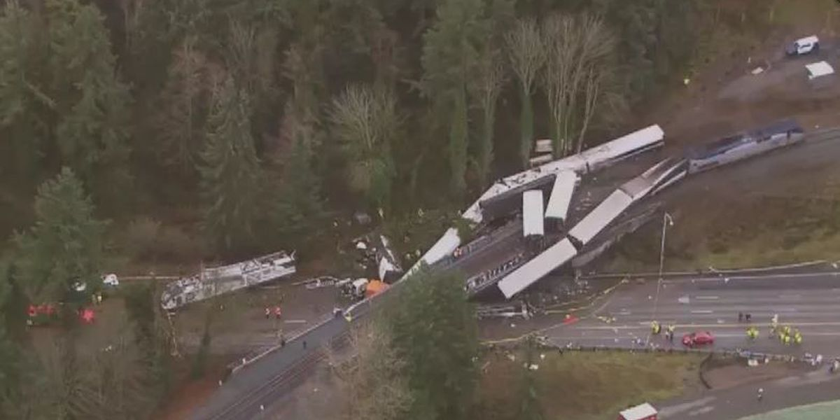 Who's at fault in Amtrak crash? Amtrak will pay regardless