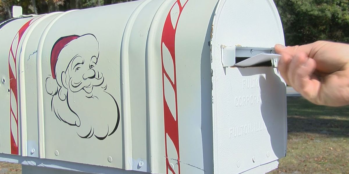 Santa mailboxes installed at Burton fire stations