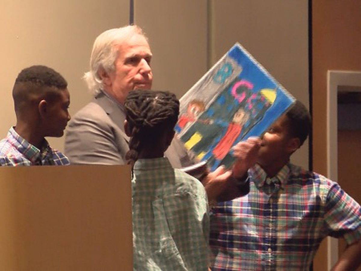 Henry Winkler speaks at Bulloch County's 13th annual Boys & Girls Club dinner