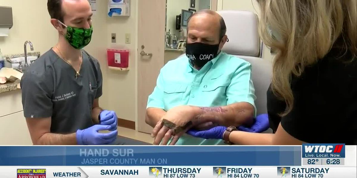 Jasper Co. coach on the mend after hand reconstruction surgery