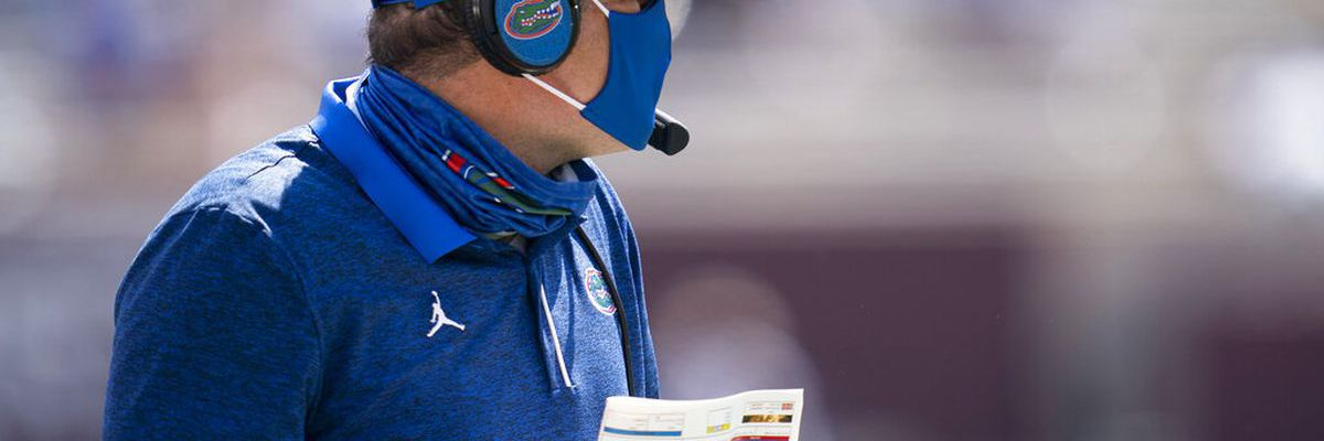 Florida Gators head coach Dan Mullen tests positive for COVID-19