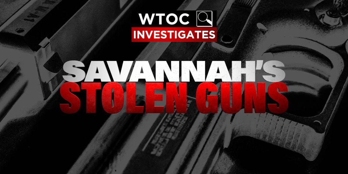 WTOC Investigates: Stolen guns connected to violent crime in Savannah