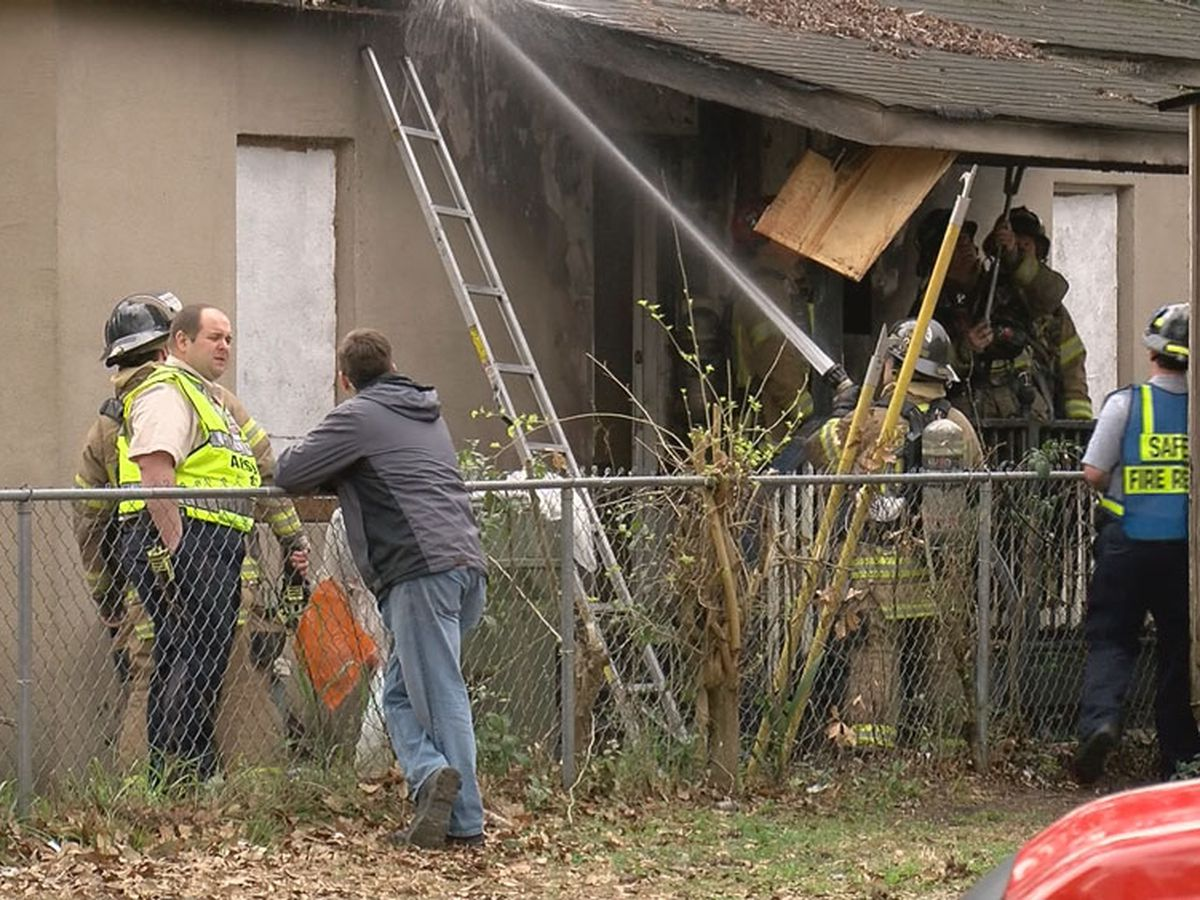 E 54th Street vacant house fire under investigation