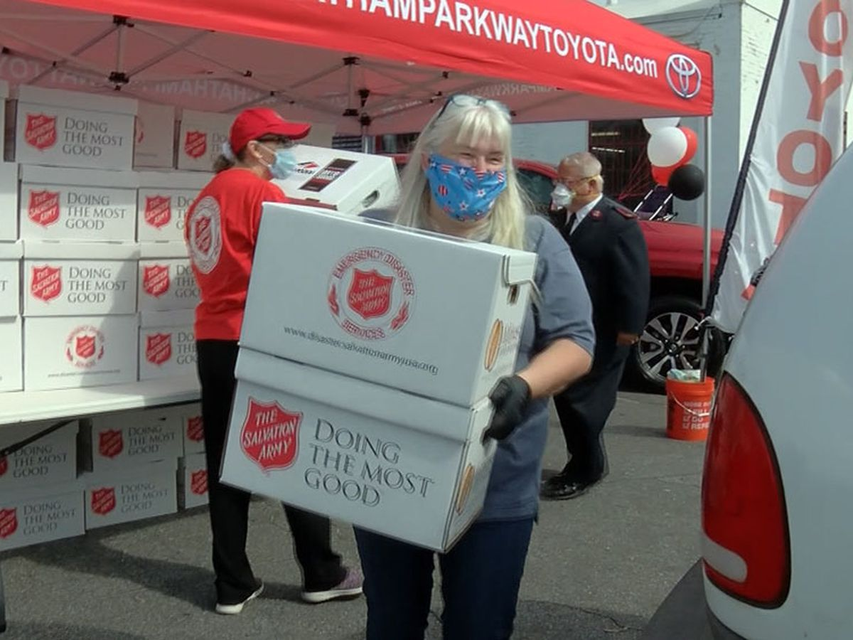Salvation Army continues to help those impacted by COVID-19