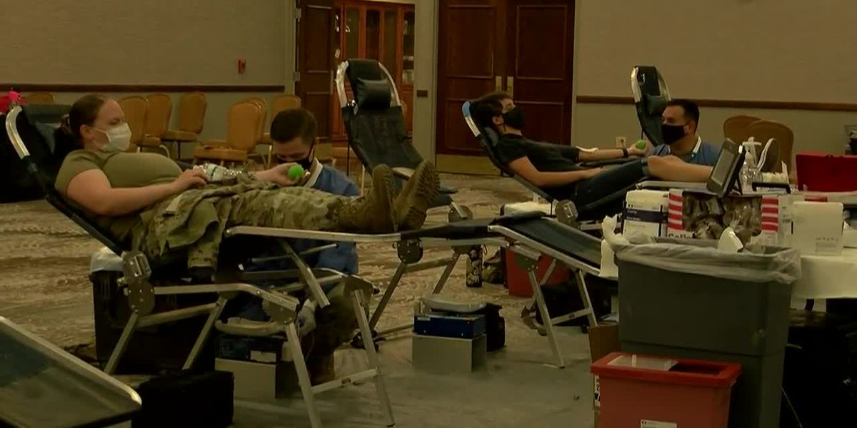 Plasma donation drive held at Fort Stewart to help fight COVID-19