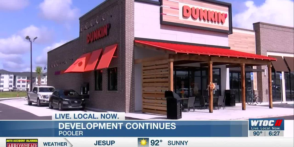 New Pooler Dunkin' opens, offering free coffee to healthcare workers